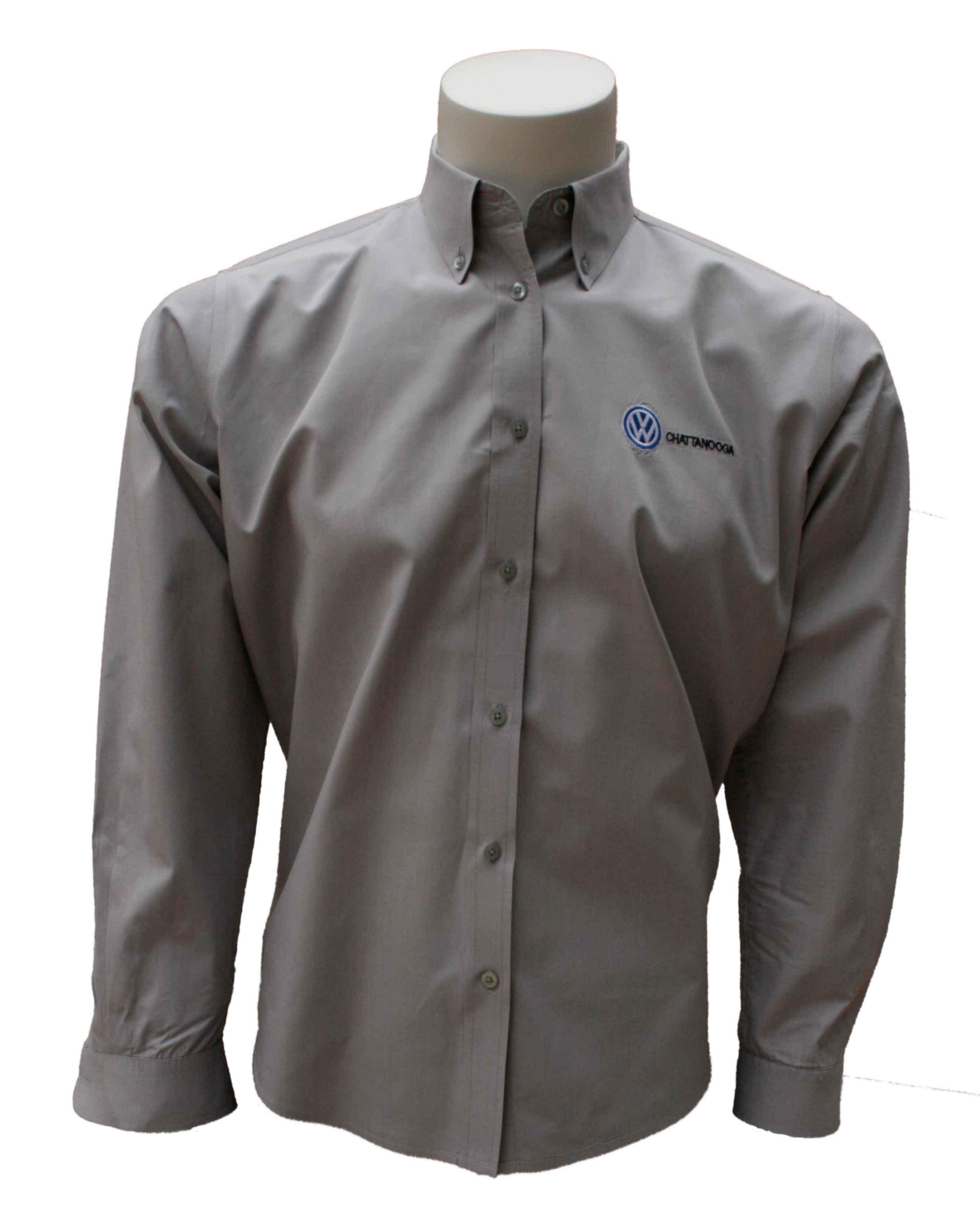 Men 39 s long sleeve shirt teamwear gray zepter sports usa for Grey long sleeve shirts