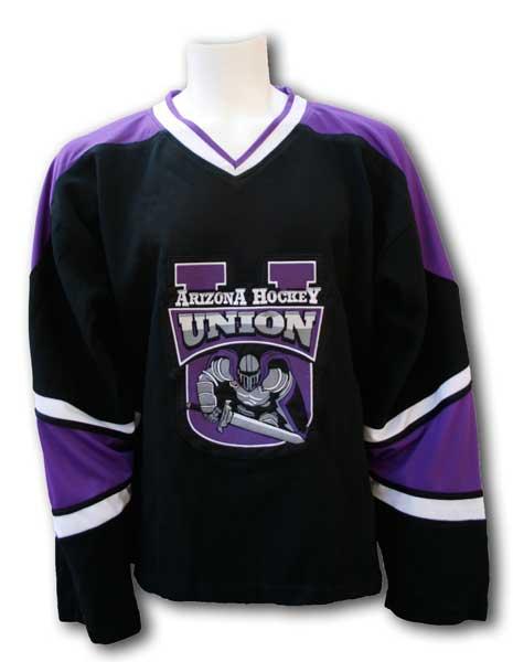 e4ff2db369aa7 Phoenix Knights Hockey Jersey - Black / Home — Zepter Sports USA